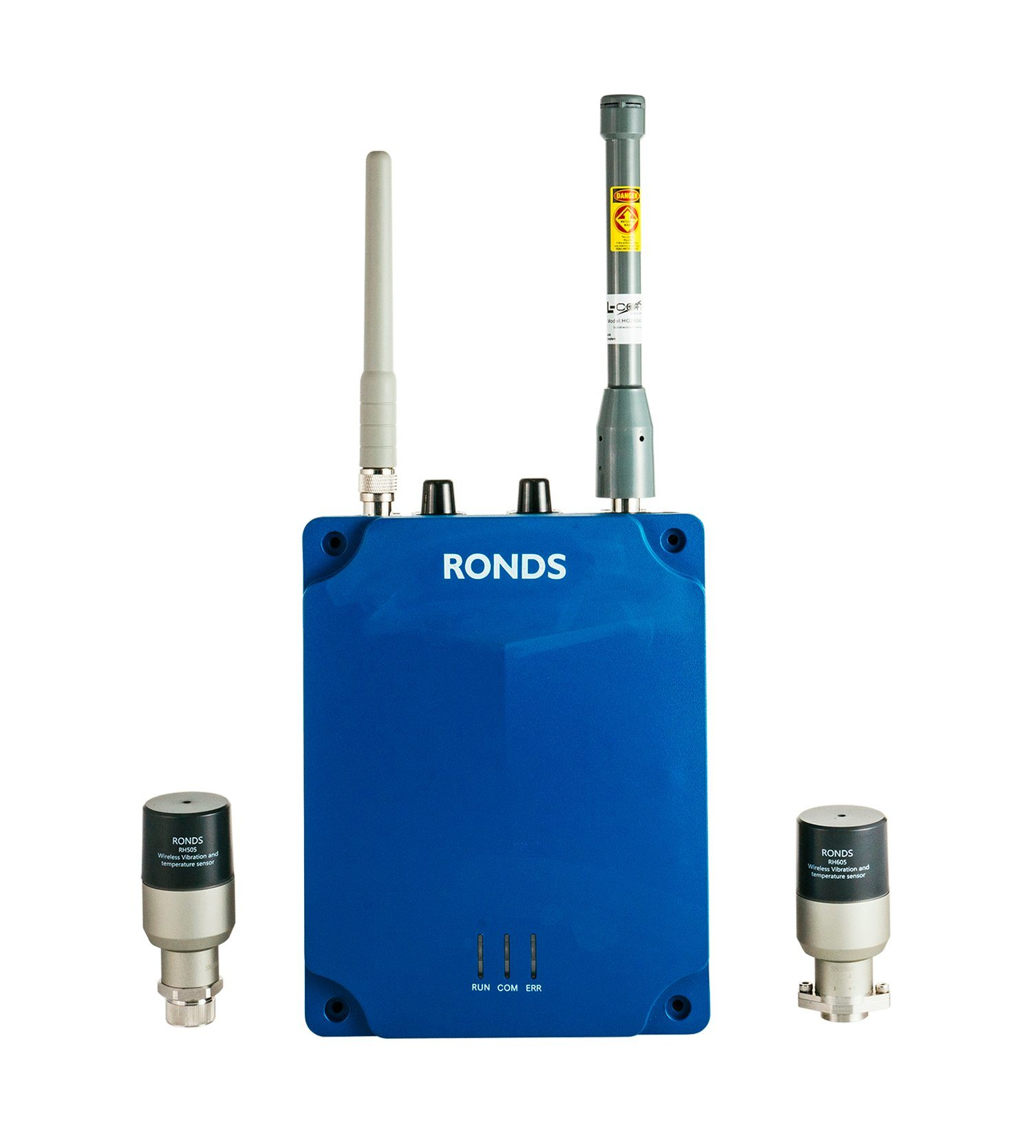 Wireless Explosion Proof Fan Condition Monitoring System for Petrochemical Industry