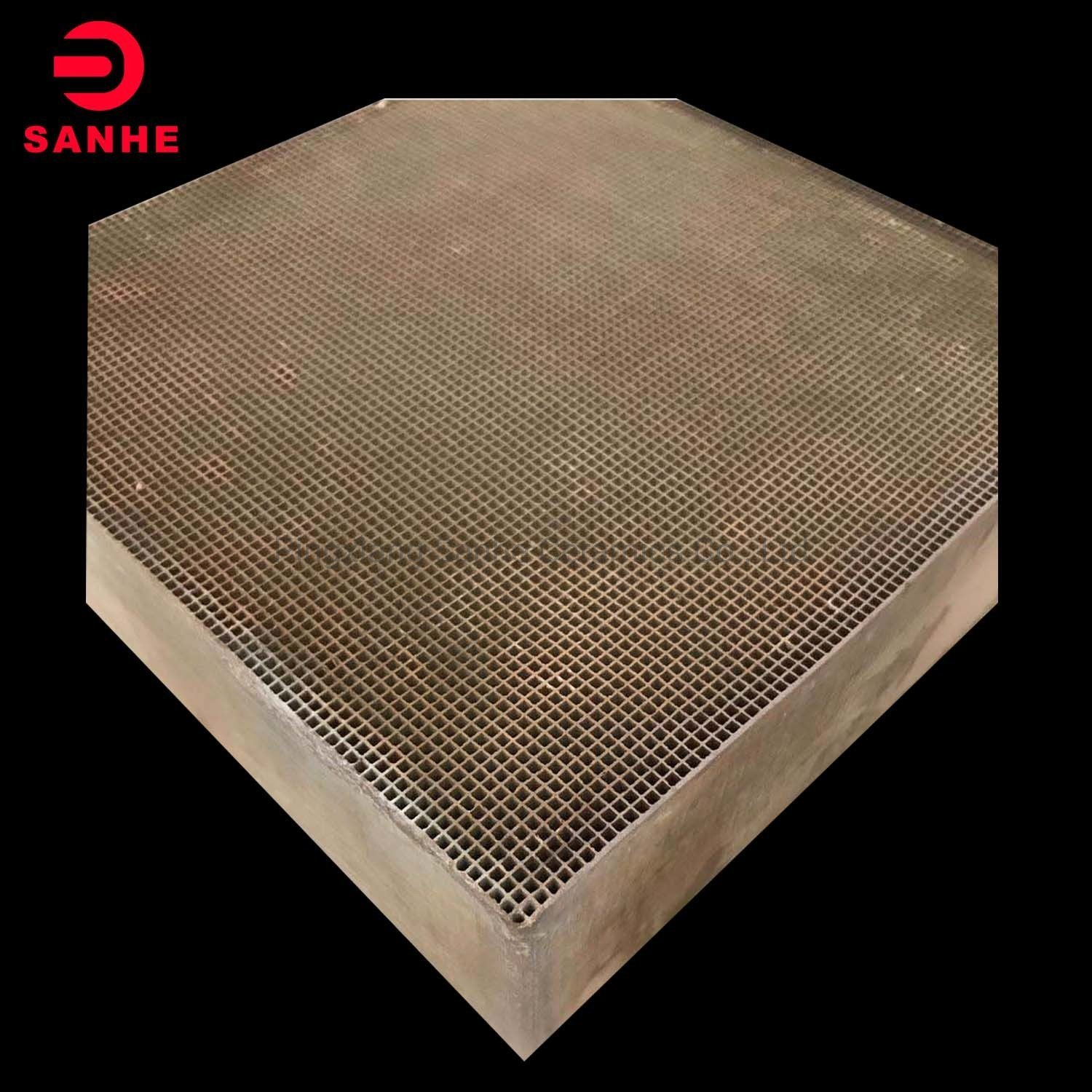 Cordierite Honeycomb Ceramic for Petrochemical and Catalyst Substrate