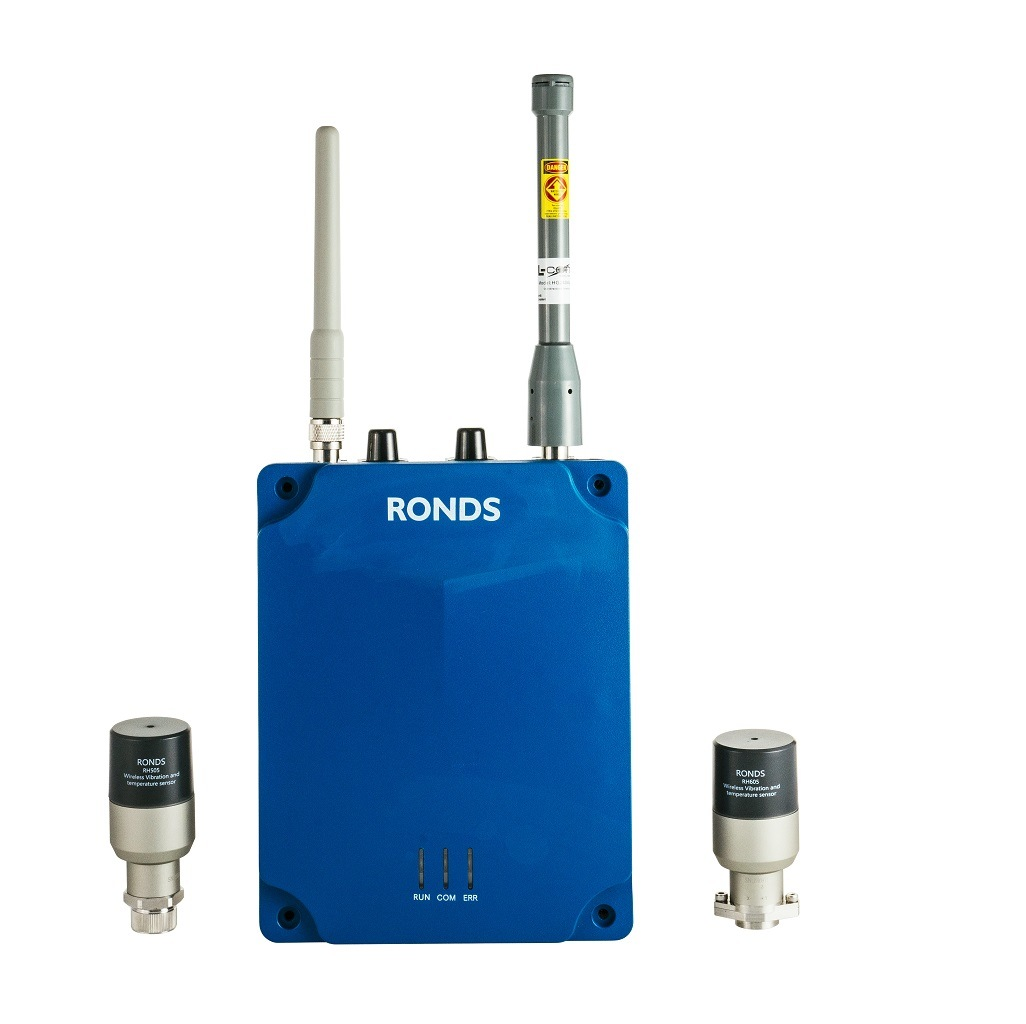 China Wireless Vibration Monitoring System for Petrochemical Industry