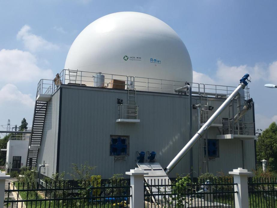 Municipal Household City Garage/Waste Biogas Anaerobic Digestion Plant