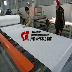 Full automatic PVC Film Gypsum Ceiling Board Laminating Machinery/Machine/Equipment/Plant