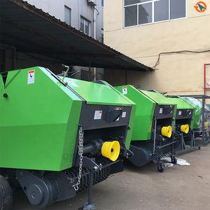 large alfalfa metal round baler machine manufacturer alfalfa hay round baler machinery balers