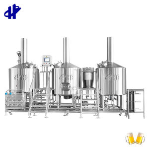 Turnkey Project Of Brewery 1000l 10bbl 10hl Whole Set Brewery Equipment Beer Brewing
