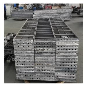6061 T6 column moulds concrete aluminum shuttering concrete formwork