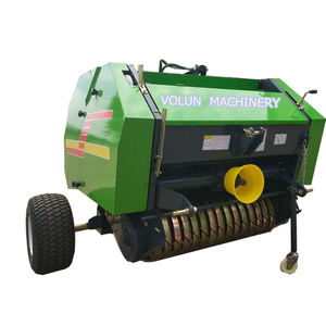 Automatic mini roll round hay silage hydraulic baler machine wrapper for grass straw balers prices i