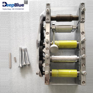 3PLY Mask Machine Main Parts 7PCS Roller Set Mask Making Machine Accessory for 3ply Disposable Medic