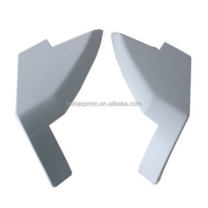 China suppliers plastic prototype models cnc machining auto part abs pc pps moulds painting service