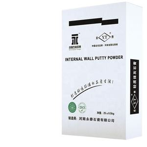 Environmentally friendly support two components wall putty airless special wall repair plaster putty
