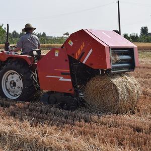 China Made Round Hay Baler Round Balers 870 Mini Round Baler For Alfalfa Sale