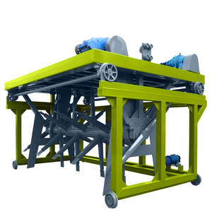 Electric Small Manure Groove Type Compost Organic Waste Fertilizer Turner Making Machines Home for M