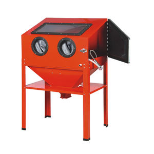 New tools Heavy duty Industry 220L Vertical Sandblast Cabinet for sale