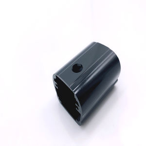 Cast Steel or Forged Part Black Anodize CNC Machining for Aluminium Profile
