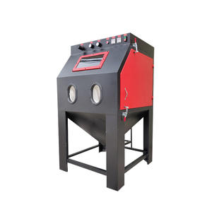 New Sand Blasting Machine Small Manual Dry Sand Blaster Machine Rust Remove Environmental Protection