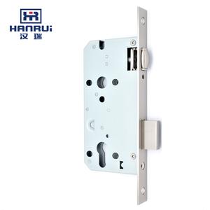 Home door hardware fireproofing Double Latch Door Security mortise lock cylinder 5585ZR in public bu