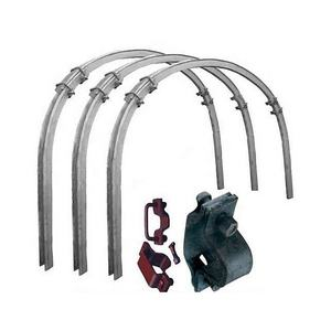Coal Mine Galvanized U Shed Support Mining U Beam Steel Arch Supports Coal Mine Tunnel Supports Pric
