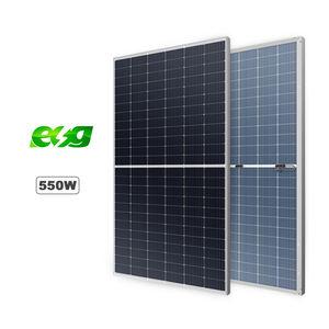 ESG Hot sell 450w 550w 600 watt Energy Products Accessories Polycrystalline Half cut solar panel