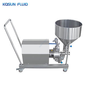 KOSUN Inline Stator Rotor Mixer For Lubricant Grease Making Powder Suction Emulsification Pump