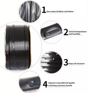 China MINGWANG LDPE Pipe Flat emitter drip irrigation belt patch type systems