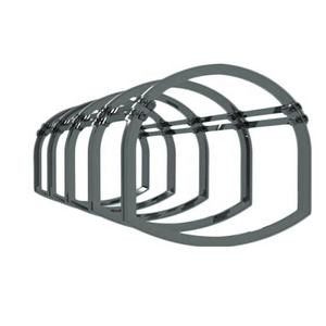 Mining Arch Supports U Channel Steel Beam Arch Supports Coal Mine Tunnel Supportting Tools