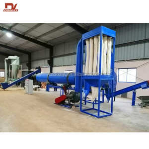 Overseas Widely Used Rice Straw Cylinder Dryer Machine for Biomass Fuels