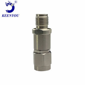Ember high-frequency millimeter-wave rf coaxial adapter 2.92mm- Male to Female SUS303 DC - 40GHz VSW