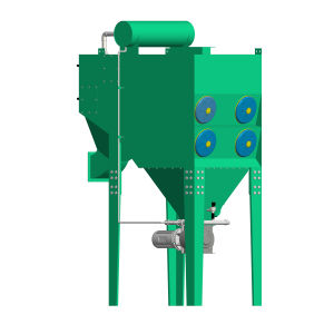 Pulse air cartridge type dust collector---for sandblasting, material feeding station, laser cutting,