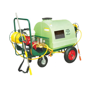 Taizhou JC agricultural cart type power sprayer with oil tank 300L