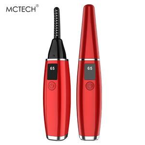 Beauty Makeup eye lash brush heated electric eyelash curler