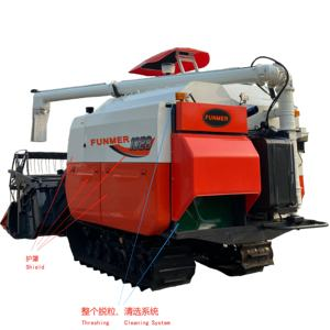 hot sale in india rice harvesters