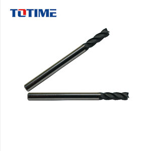 Diamond Coating Square End Mill with 4 flutes for Graphite cutting Aluminum cutting