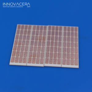 INNOVACERA Copper Plating Alumina Ceramic Metallized Substrate DBC Plate For High Power Electronic