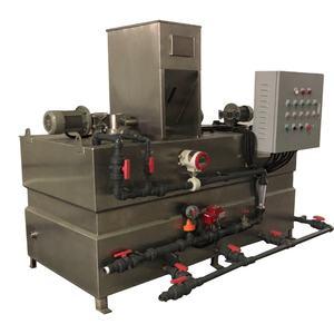 Sus316 Three Chamber Fully Automatic Automatic Batching Feeding Chemical Dosing Preparation Unit Dev