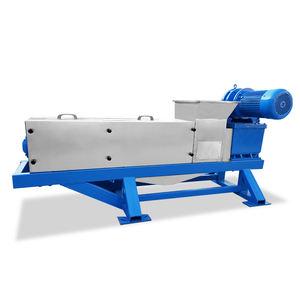 Biogas Dewatering Making Machine Industrial Screw Press Dehydration Machine