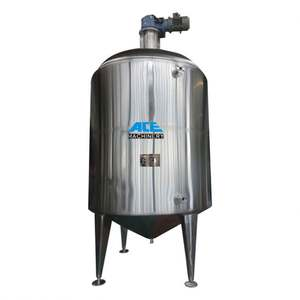 Factory Price Chemical Material Mixer Agitated Stainless Steel Storage Tank