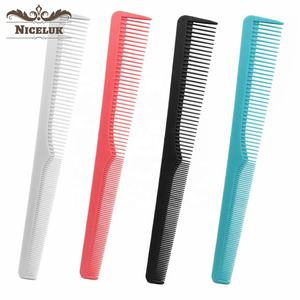 Niceluk barbering mini tool customised designer parting hair salon pick cutter combs set for girls h