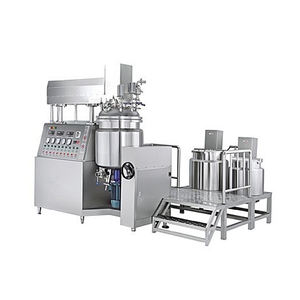 Automatic Stainless Steel Tank Emulsifier With Lubricant Heavy Mixing Double Tank
