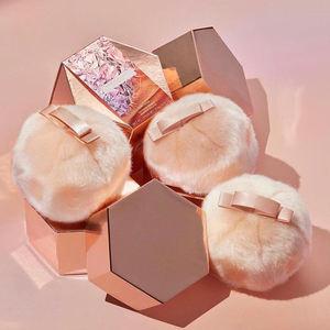 Makeup Fairy Bomb Glittering POM POM Shimmering Flash Contour Plush Bronze Highlighter Ball Puff