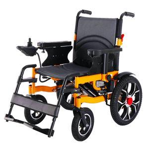 Active Ramp Brake Sports Wheelchair Noise Reduction Brushless Motor Onekey Foldable Disabled Power E