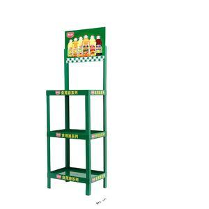 Custom Retail Display Rack thermoformed pvc floor display stand