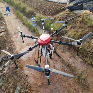 Super 15L Agricultural sprayer Drone with 15kg seed Fertilizer spreader device in agriculture