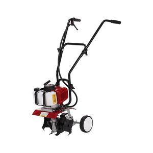 62CC hand push gasoline tiller Garden Cultivators Gasoline Mini Power Tiller with 4 Blades