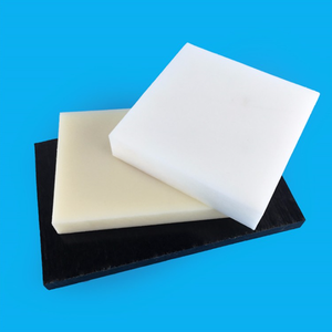 2019 factory price 5-200mm Thick Engineering Plastic White And Black Hard Acetal Derlin / POM sheets