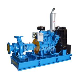Automatic farm irrigation system of diesel water pump