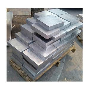 Aluminum plate 6061 T6 cut size 400 x 220 mm with 1 inch thickness for energy physics projects