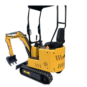 1.3t mini excavator machine micro digger and forestry mulcher
