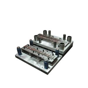Dual channel metal punching tooling stamp die punched stamping precision progressive For Factory Hot