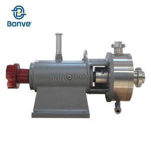 Rotor Stator Mixer with Double Face Mechanical Seal can have Cooling Device or Heating Insulation 38