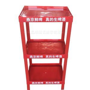 Instock Logo Printed Shop Display Rack Shelf pvc display stand for retail