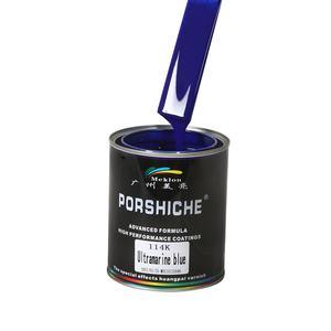 Meklon High Adhesion Power Aluminium Automotive Glossy Car Paints for Refinish Paint Colors