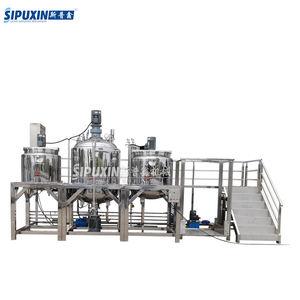 Spx vacuum homogenizer continuous mixing machines food and beverage processing/manufacturing mixer,c